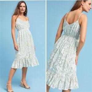 Velvet Seagrass Dress by Hemant & Nandita NWT M